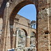 Basilica Julia at Roman Forum in city of Rome, Italy (2)