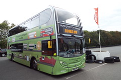 DSCF6547 (Steve Guess) Tags: donington park england gb uk nottingham history bus enviro 400 alexander dennis