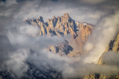 Mt. Mallory in the Clouds (Jeffrey Sullivan) Tags: mt sequoia national park inyo forest clouds weather lone pine eastern sierra california usa landscape travel photography canon eos 5d mark iv road trip jeff sullivan photo copyright september 2018 whitney mtwhitney mountain telephoto hdr photomatix circular polarizing filter