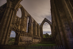 Haunting Bolton Abbey (EricMakPhotography) Tags: boltonabbey ruins abbey yorkshire cloud sky longexposure