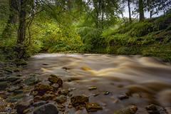 Peaty Water's .. (CamraMan.) Tags: geltwoods rivergelt trees rocks longexposure leefilters canon6d canon1740mmlusm earlyautumn benro