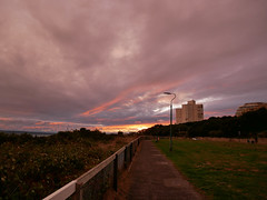 after the storm sunset 279/365 (auroradawn61) Tags: eastcliff thealbany bournemouth dorset uk england october 2018 sunset clouds stormy 365daysin2018 lumixgx80 explored interestingness