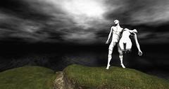 Cammino e Vivo Capovolto I (Saga Mea) Tags: digitalart digital virtual 3dart 3d misterohifeng sl secondlife