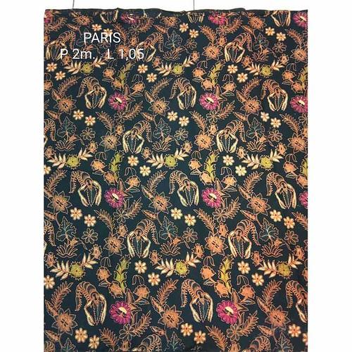Kain Batik Motif Paris Sogan 7726Kain Batik Motif Paris Sogan 7726