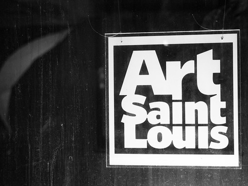 Art Saint Louis B&W