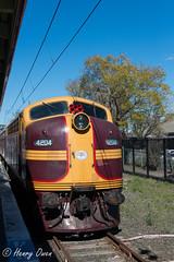 4204 at Richmond (Henry's Railway Gallery) Tags: 4204 42class emd diesel clyde tuscan nswgr lvr lachlanvalleyrailway diesellocomotive heritagetrain passengertrain clarendonclassicmachineryrally richmond