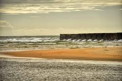 Tamatave Sea Wall (Rod Waddington) Tags: madagascar malagasy tamatave sea wall indian ocean beach sand water waves clouds seaside landscape seascape
