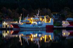 20181016-Notbøteriet-00017-11 (Knut Erik Håheim) Tags: pelagic notbøteri fishing fishingnet vessel ship boat fishingvessel calm reflection morning night albacore krossøy