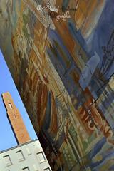 Monument américain vu du port de commerce de Brest  (France,  Bretagne, Finistère) (pascalkerdraon) Tags: france bretagne brittany britany finistere penn pen ar bed brest