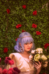 Remilia Scarlet - Grace (bdrc) Tags: remilia scarlet touhou project a7iii fullframe amesoeur cafe indoor warm soft tsuyusei sei people girl cosplay portrait ambiance light canon 100mm f28 macro prime sony sonyalpha sonyimages sonyuniverse asdgraphy malaysiaphotographer mirrorless restaurant