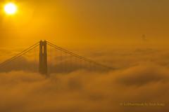 Good Morning, KarTheFog (letphotospeak) Tags: canon5dmarkiv letphotospeakbyscottkong scottkong karthefog sanfrancisco goldengatebridge