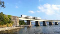 Reforzando los pilares (javivillanuevarico) Tags: galicia renfe ferrocarril riadeferrol agua naturaleza líneaferrolbetanzos
