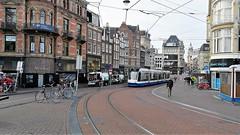 1x1 (Peter ( phonepics only) Eijkman) Tags: amsterdam city combino gvb omleiding detour tram transport trams tramtracks trolley rail rails strassenbahn streetcars nederland netherlands nederlandse noordholland holland