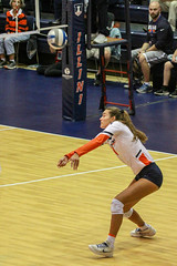 Bump (RPahre) Tags: universityofillinois illinois champaign huffhall huff bigten b1g outsidehitter bump defense serveandreceive jacquelinequade copyrighted robertpahrephotography donotusewithoutpermission