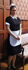 Maid (dycken) Tags: usa maid chambermaid uniform
