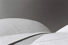 Rolling Sails (Christopher Clarkson) Tags: abstract soh contax analog blackandwhite architecture film 35mm kodak