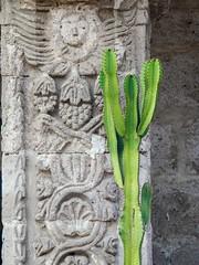 Cactus ornament (Inti Runa) Tags: canoneosm5 canonefm18150mm arequipa peru architecture tourism travelphotography digitalnomad