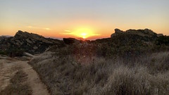 Three Days into Autumn (Unangelino) Tags: sageranchpark sageranchlooptrail iphone iphone8 sunset snapseed fall autumn simivalley venturacounty