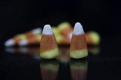 Two Candy Corns (Jack Heald) Tags: hmm macromondays macro perfectmatch halloween october fall heald jack micro nikon d750 60mm candycorn