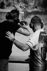 36300 - Shooting (Diego Rosato) Tags: shooting shot tiro fucile shotgun bianconero blackwhite nikon d700 sigma 70200mm rawtherapee