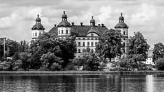 Schloss Skokloster - sw (KL57Foto) Tags: 2018 juli july kl57foto omdem1 olympus schweden sommer summer sverige sweden bw sw schwarzweis blachwhite schlos skokloster
