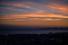 dusk (athanecon) Tags: thebluehour sky clouds sea colors colours alimos alimosview aegina salamina pani athina athens greece