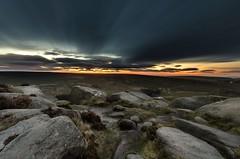 Daybreak - Higger Tor (gavsidey) Tags: sunrise clouds ngc d500 higger tor derbyshire sky line orange glow