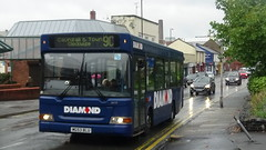 Diamond Bus no. 20717 (MG53BLU) @ Oxford Street, Kidderminster - 06/10/2018 (LucyMichela19xx) Tags: uk england kidderminster worcestershire bus buses busphotos busphotography transport transportphotography transbus dartslf pointer2 20717 mg53blu diamondbus diamond route9c