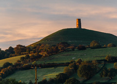 Glastonbury Tor at sunrise (Stuart.67) Tags: glastonbury tor avalon sunrise light somerset d800 nikon