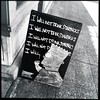 good advice (Chris Blakeley) Tags: seattle hipstamatic chalkboard bartsimpson cafe coffeehouse