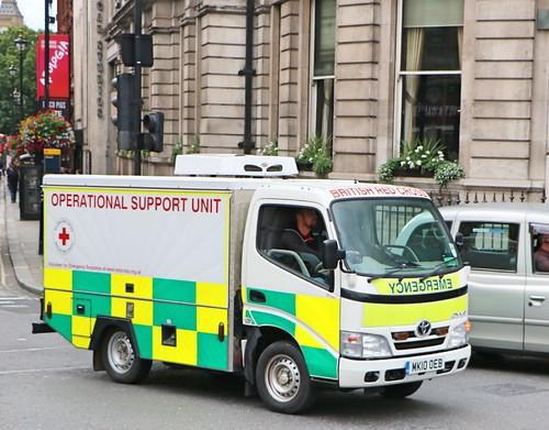British Red Cross - Operational Support Unit - MK10OEB