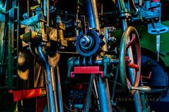 DSC7534 (EberhardPhoto aus Hagen) Tags: dampfmachine farbe technik museum