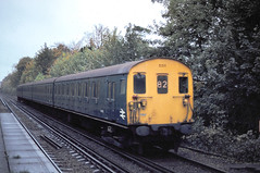 Shoreham Class 415 5311 Sevenoaks to London Nov 79 J6672 (DavidWF2009) Tags: southern shoreham kent class415