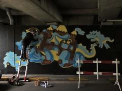 KUU / Ter Platen - 6 okt 2018 (Ferdinand 'Ferre' Feys) Tags: gent ghent gand belgium belgique belgië streetart artdelarue graffitiart graffiti graff urbanart urbanarte arteurbano ferdinandfeys