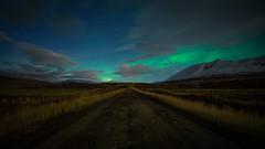 Iceland Roadtrip Day 9: Northern Lights (Christoph Wenzel) Tags: nacht aurora strase herbst sonyalpha6000 urlaub island samyang12mmf20 roadtrip manuell grün natur landschaft þingeyjarsveit norðurlandeystra is auroraborealis polarlichter astro