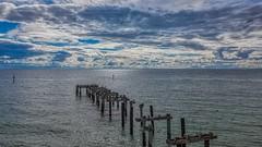 Seaford Pier (Thunder1203) Tags: australia djiglobal frankstoncity portphillipbay seafordpier victoria construction djiaustralia dronelife dronephotography droneworld hdr hortizonoverwater nisifilters pier seascape