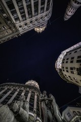 """Nose up"" in Buenos Aires (karinavera) Tags: city night photography urban ilcea7m2 buenosaires noseup florida argentina financial"