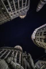"""Nose up"" in Buenos Aires (karinavera) Tags: city night photography urban ilcea7m2 buenosaires noseup florida argentina financial"