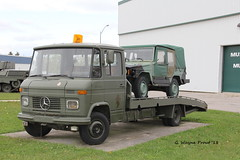 Mercedes-Benz T2 608D Car Transporter with Volkswagen Iltis (Gerald (Wayne) Prout) Tags: mercedesbenzt2608dcartransporter volkswageniltis mercedesbenz t2 608d cartransporter volkswagen iltis car transporter canadianforcesbaseborden simcoecounty ontario canada prout geraldwayneprout canon canoneos60d eos 60d digital dslr camera canonlensefs18135mmf3556is lens efs18135mmf3556is photographed photography vehicle vehicles equipment machine machinery truck 4x4 military canadianforces canadian forces base borden simcoe county dnd departmentnationaldefense governmentofcanada display