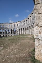If stones could talk (ORIONSM) Tags: pula croatia arena arches stone roman building architecture panasonic tz100 lumix