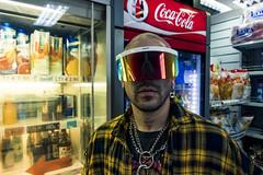 $NK (Nico Selis) Tags: portrait boy tattoo style more pain vlone chain glasses day night neo light dark