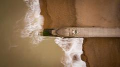 DJI_0041 (felt_tip_felon®) Tags: surf brighton beach surfsup bodyboarding bodyboard ocean plasticfreesea tide waves break shore seaside palacepier albionbeach
