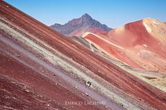 Rainbow Mountain of Vinicunca (Enrico L. ) Tags: perùperúperuvinicuncarainbowmountainmontagnaarcobalenoarcobalenomontagnamountainapucuscocuscoregioncuscovinicuncacuscorainbowmountaintravelhikingtrekkingcanoncanoneos5dmarkiii5dmarkiiieostravelphotographytravelperucerrocolor montana