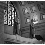 Union Station Interior in Black & White thumbnail
