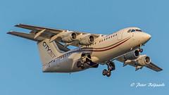 EI-RJT   British Aerospace Avro RJ85 - Cityjet (Peter Beljaards) Tags: msne2366 4xlf500 cityjet rj85 eirjt nikon70300mmf4556 aviationphotography nikon whisperjet final inbound landing ams eham arrival