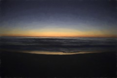 Burning Desire (delmarvajim) Tags: digitalart digitalprocessing digitaleffects digitalpainting fineart ocean surf dawnfirstlight light shadow reflection drama