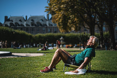 (theodirector) Tags: old oldman oldpeople oldperson people streetphotography streetphoto photoreporter photoreport parc placedesvosges paris parislife parisian sieste siesta rest repos asleep sleep sleeping sleeper repose pause break sun sunlight suntanning tanning tan bronzing garden publicgarden park peoplephotography square lawn grass spring daylight bastille parisianlife parisianpeople parisien nature trees afternoon nap afternoonnap afternoonsnooze snooze sunshine sunny sunbath sunshines chair littlechair short funny
