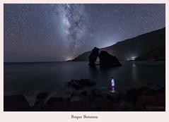 Roque de Bonanza (yoni103) Tags: sigma sigma2470 sigma14mm canon6d canarias cielosnocturnos cielos manfrotto elhierro paisajes nocturnas naturaleza lucroit