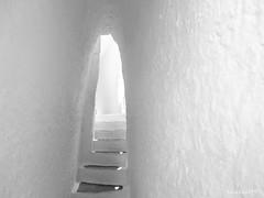 (Hasan KUSNE) Tags: photo photography white black blanc noir art foto salvadordali dali hause maison mur wall passage abstrait abstract soyut duvar ev best canon camera popular 6d f4 24105