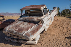 Solitaire ( Philippe L PhotoGraphy ) Tags: carcasse voiture namibie solitaire afrique khomasregion na afric philippelphotography rapace oiseaux elephan réserve pentax k1